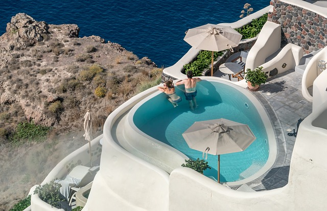 luxury plunge pools