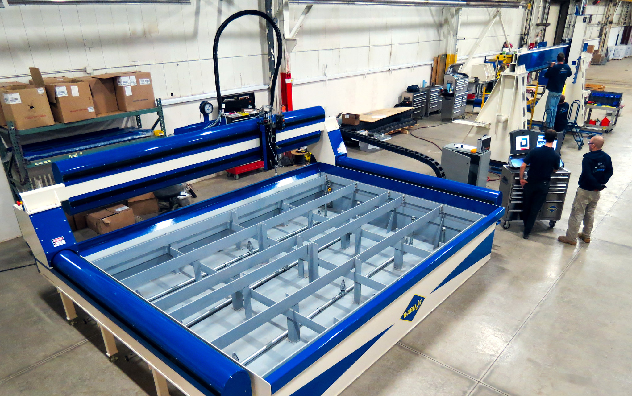 waterjet cut machine